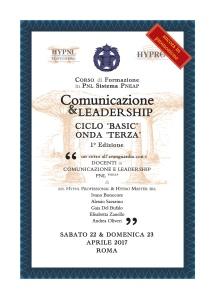 comunicazione & leadership, ciclo basic, onda terza, 1° ed