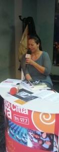 intervista elisabetta, radio città futura, fiera del libro, roma, 2015