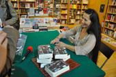 presentazioni libri elisabetta, gli ashram e il drago celeste, 2013, libreria nuova europa, centro commerciale i granai, roma 3