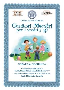 HYPRO formazione, corso genitori maestri per i vostri figli, modulo bambini e ragazzi 4-14 anni (generale)