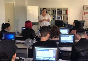Lezione seminario presso l'Istituto Armando Curcio dell'autrice Elisabetta Zanello 6