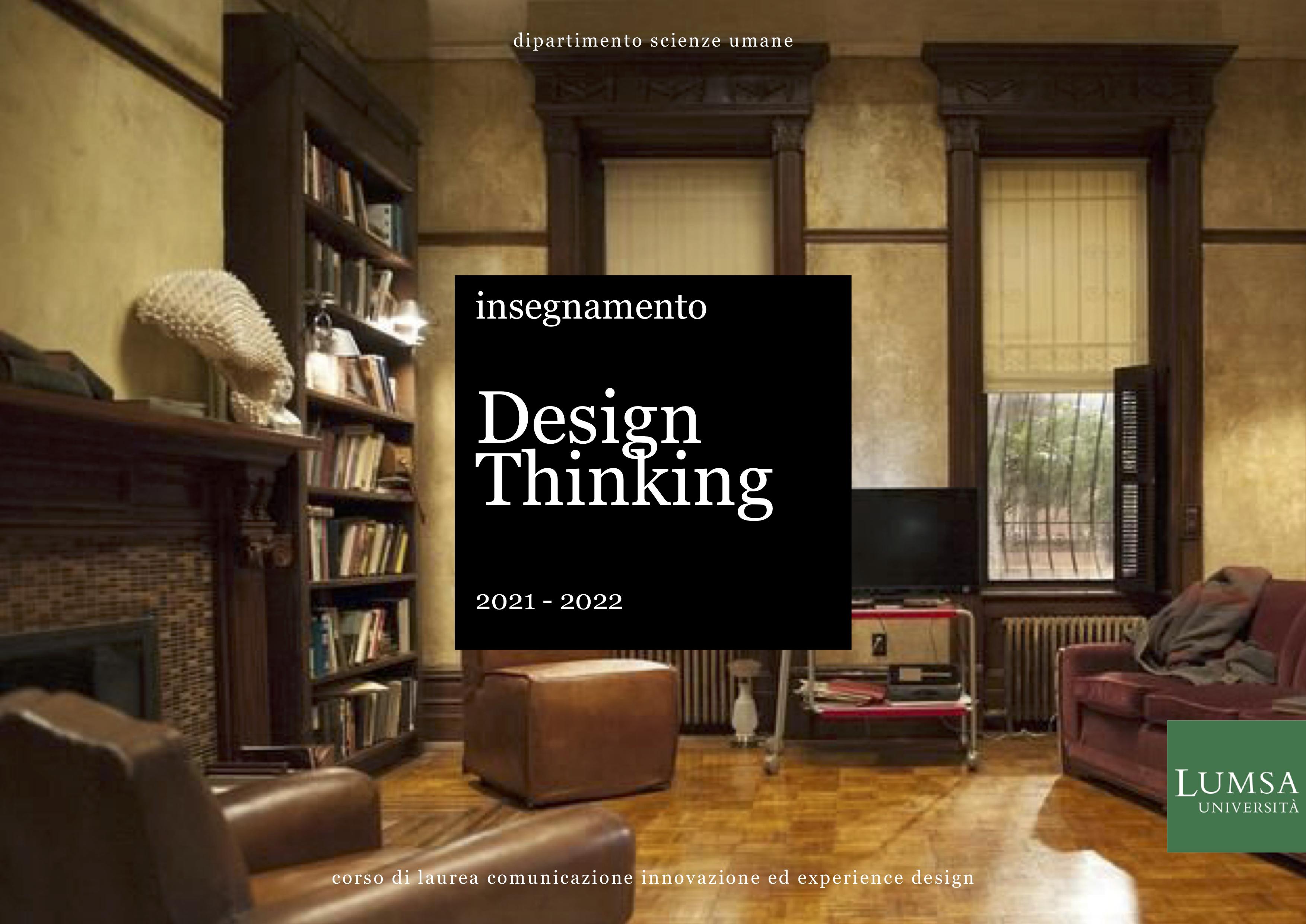 insegnamento design thinking, lumsa, roma